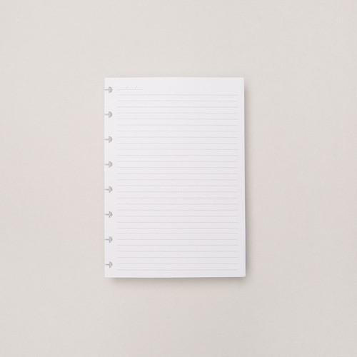 Caderno Inteligente Refil A5 Pautado 90g