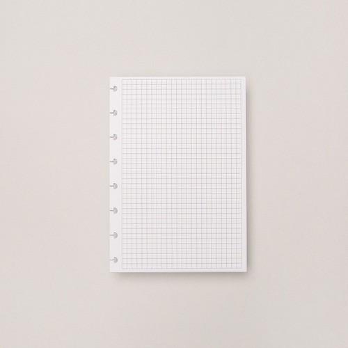 Caderno Inteligente Refil A5 Quadriculado 90g