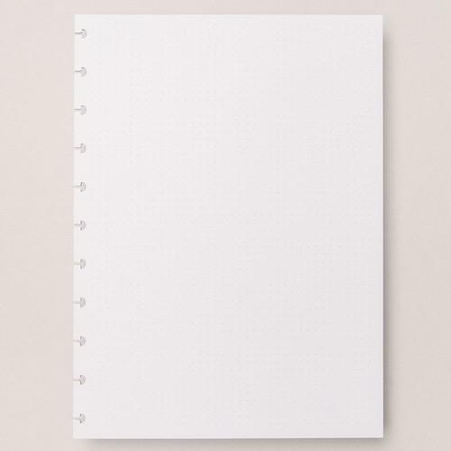 Caderno Inteligente Refil Grande Pontilhado 120g