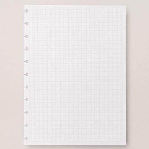 Caderno Inteligente Refil Grande Quadriculado 90g