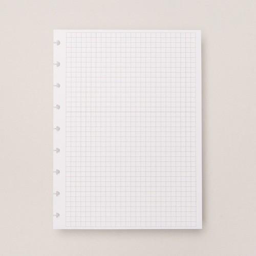 Caderno Inteligente Refil Médio Quadriculado 90g