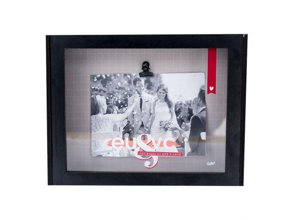 Caixa De Lembrança Porta-Retrato - Eu & Vc Definição De Amor