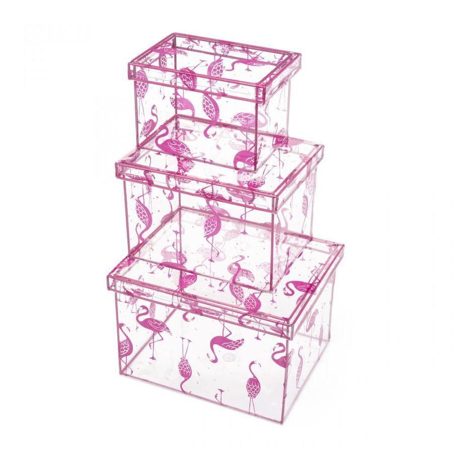 Caixas Flamingos