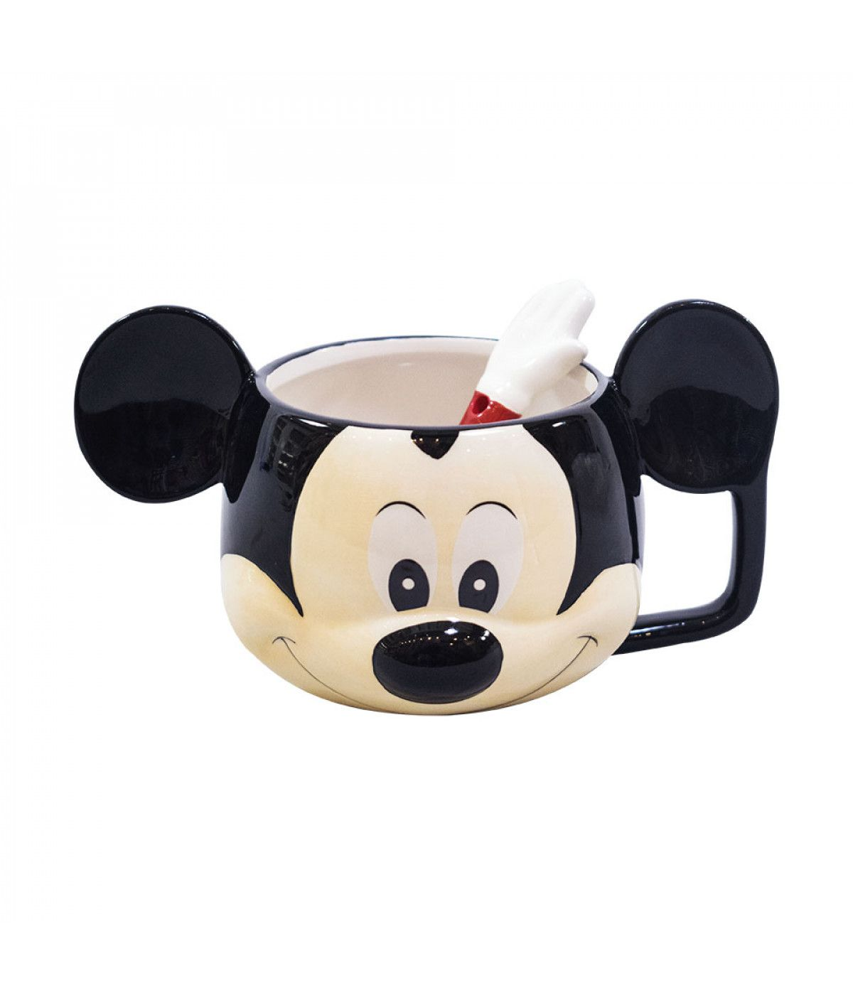 Caneca 3D Disney Mickey Face