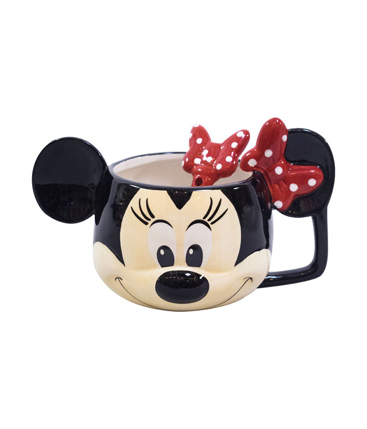 Caneca 3D Disney Minnie Face