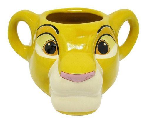 Caneca 3D Disney Rei Leão Simba