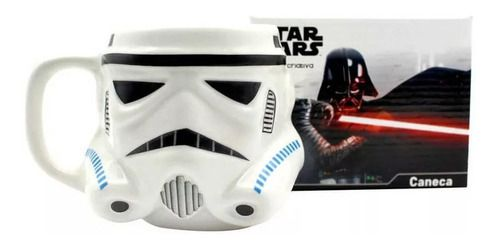 Caneca 3D Disney Star Wars Stormtrooper