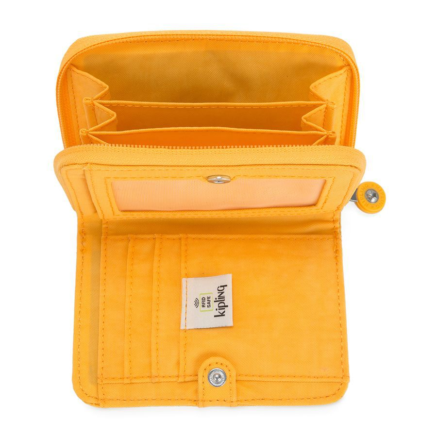 CARTEIRA KIPLING MONEY LOVE - VIVID YELLOW