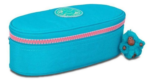 Estojo Kipling Duobox Turquoise Sea