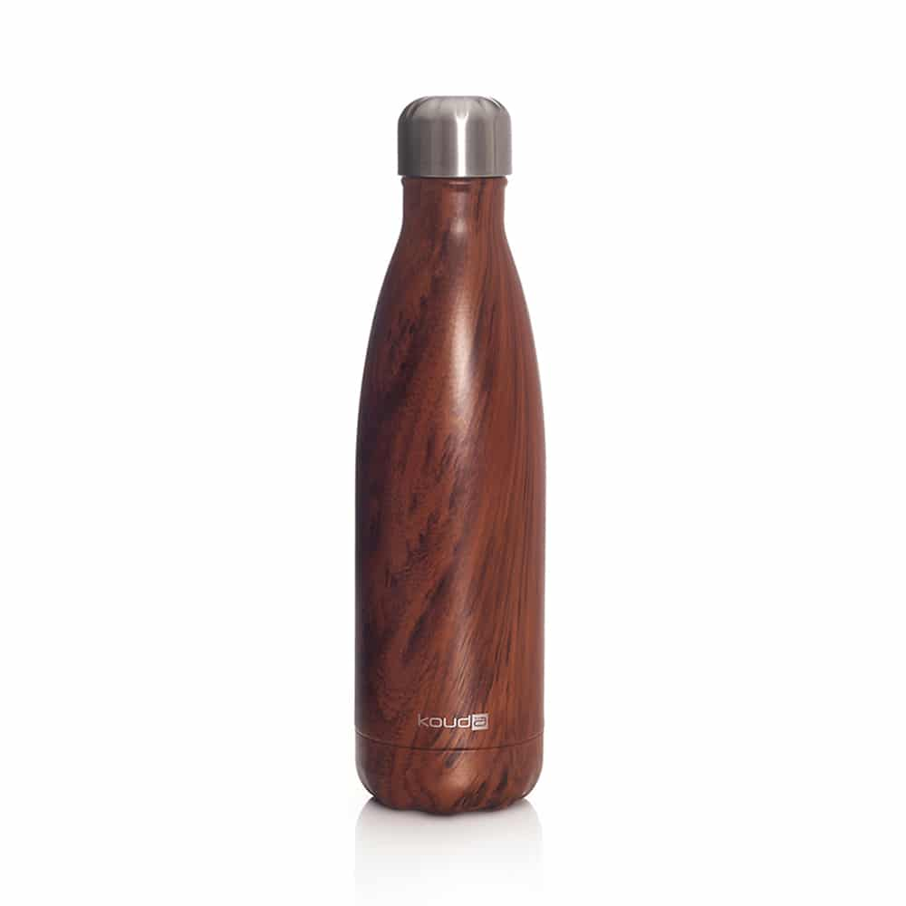 Garrafa Kouda Grey 500ml Wood Classic