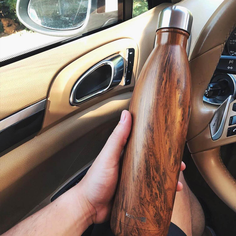 Garrafa Kouda Grey 750ml Wood Classic