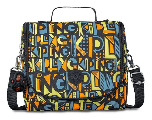Lancheira Kipling Kichirou Flex Deco Print Mix