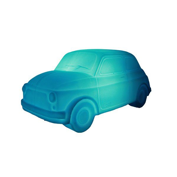 Luminária Fiat 500 Azul