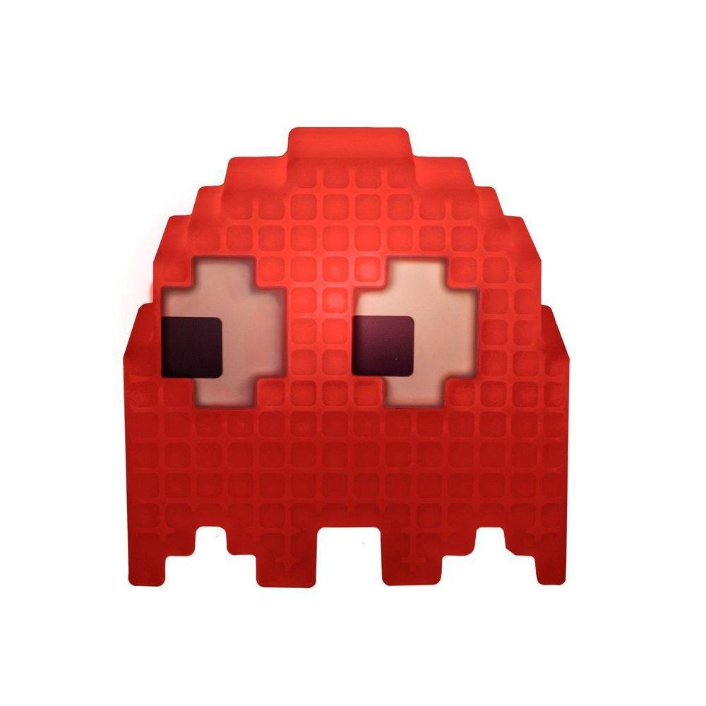 Luminária Pac-Man Fantasma Vermelho Blinky