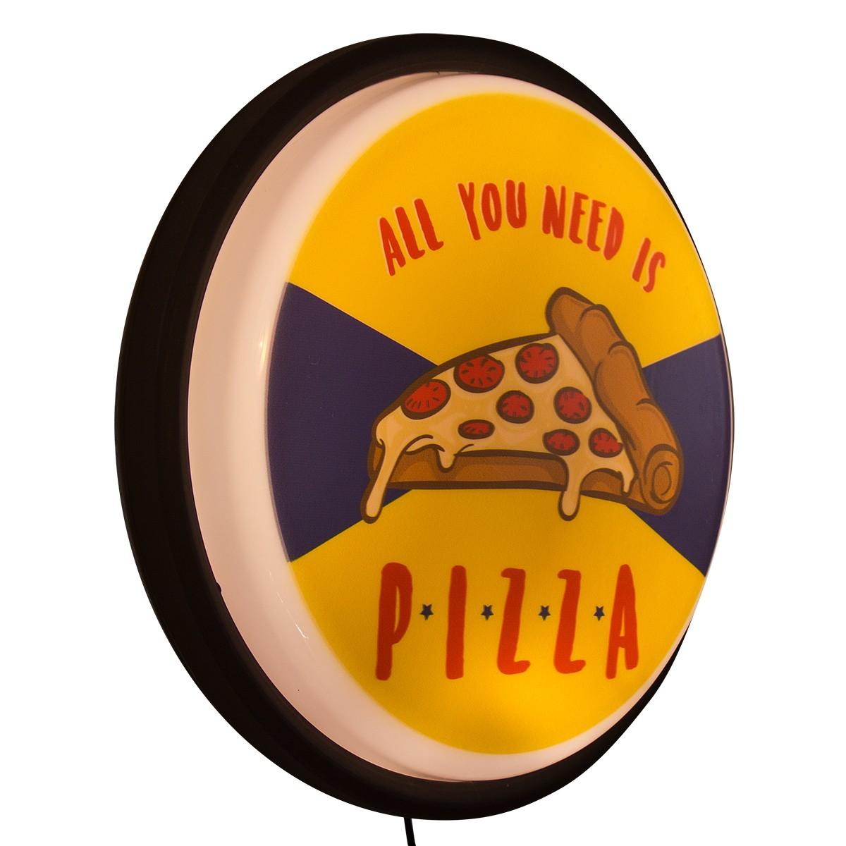 Luminária Sign Pizza