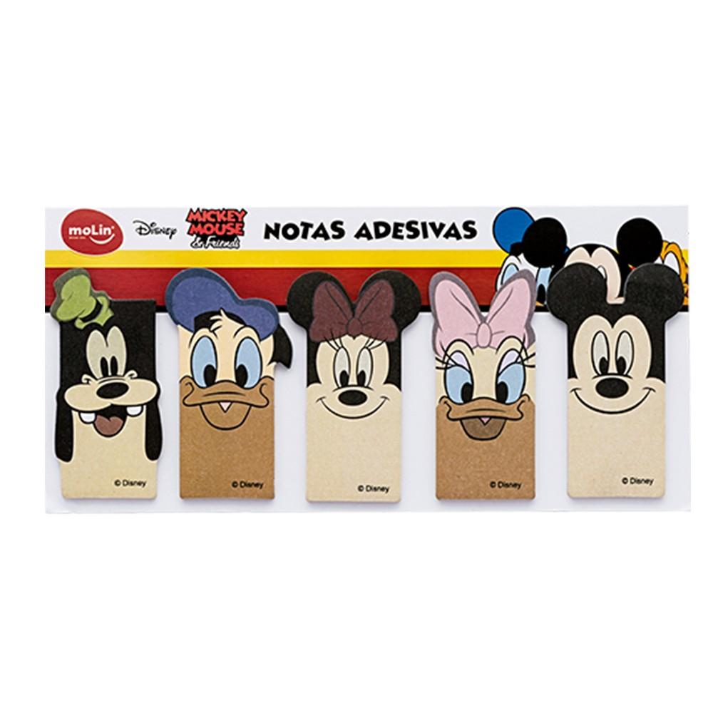 Marcadores De Página Adesivos Molin Mickey