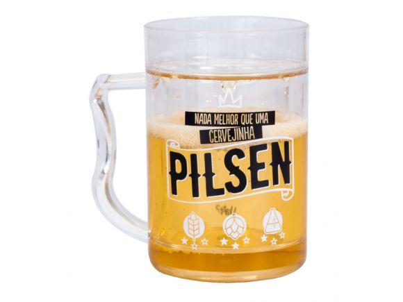 Mini Caneco Congelável - Cervejinha Pilsen