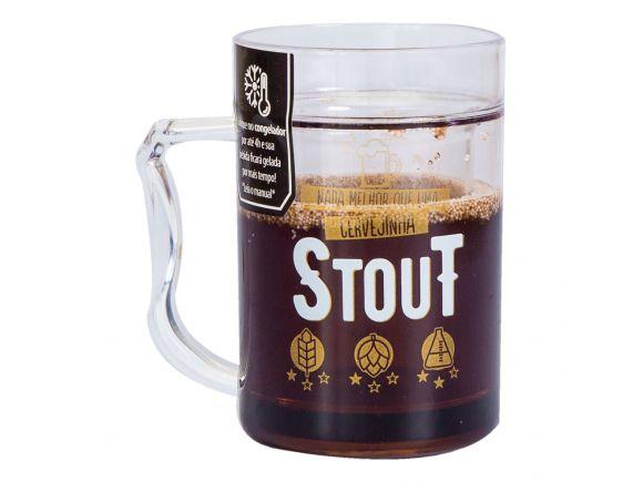 Mini Caneco Congelável - Cervejinha Stout
