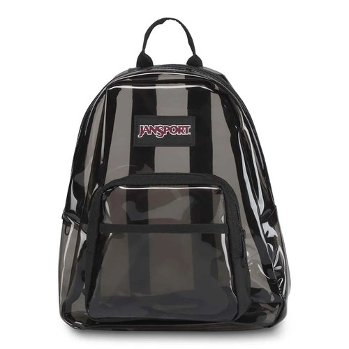 Mini Mochila Jansport Hal Pint Fx Transluscent Black