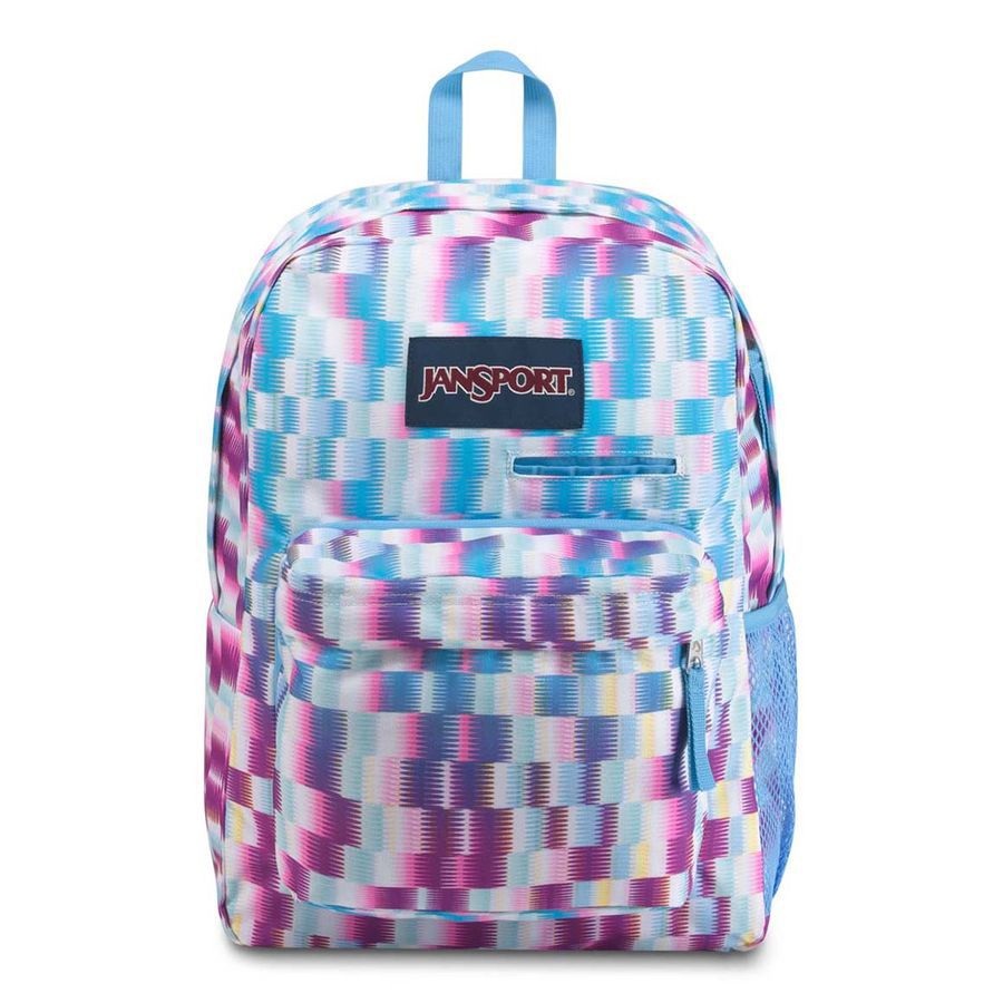 MOCHILA JANSPORT DIGIBREAK - JAGGED PLAID