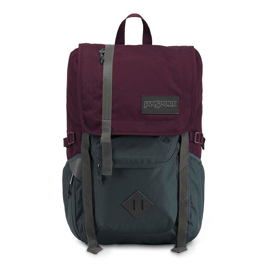 MOCHILA JANSPORT HATCHET - DRIED FIG / GREY HORIZON
