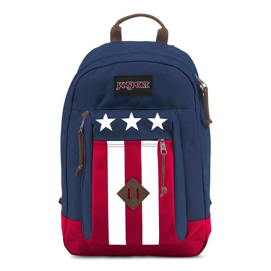 MOCHILA JANSPORT REILLY - NAVY EASY RIDER