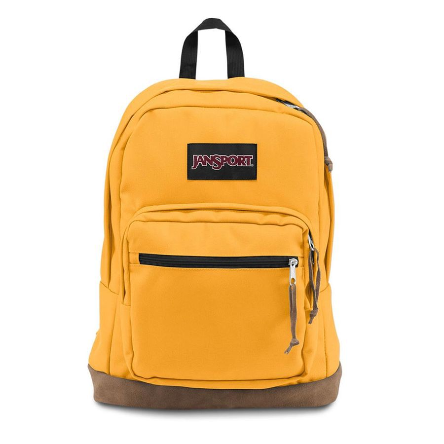 MOCHILA JANSPORT RIGHT PACK - ENGLISH MUSTARD