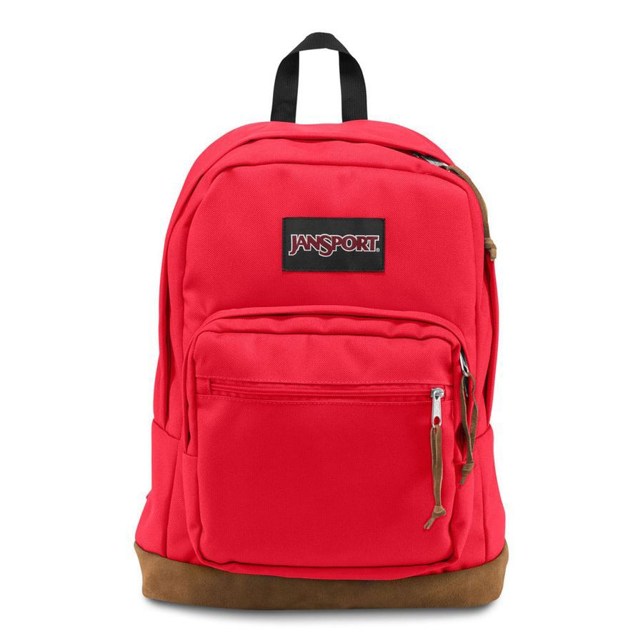 MOCHILA JANSPORT RIGHT PACK - HIGH RISK RED