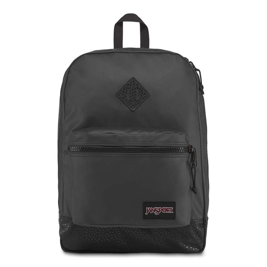 MOCHILA JANSPORT SUPER FX - BLACK STONE IRIDESCENT
