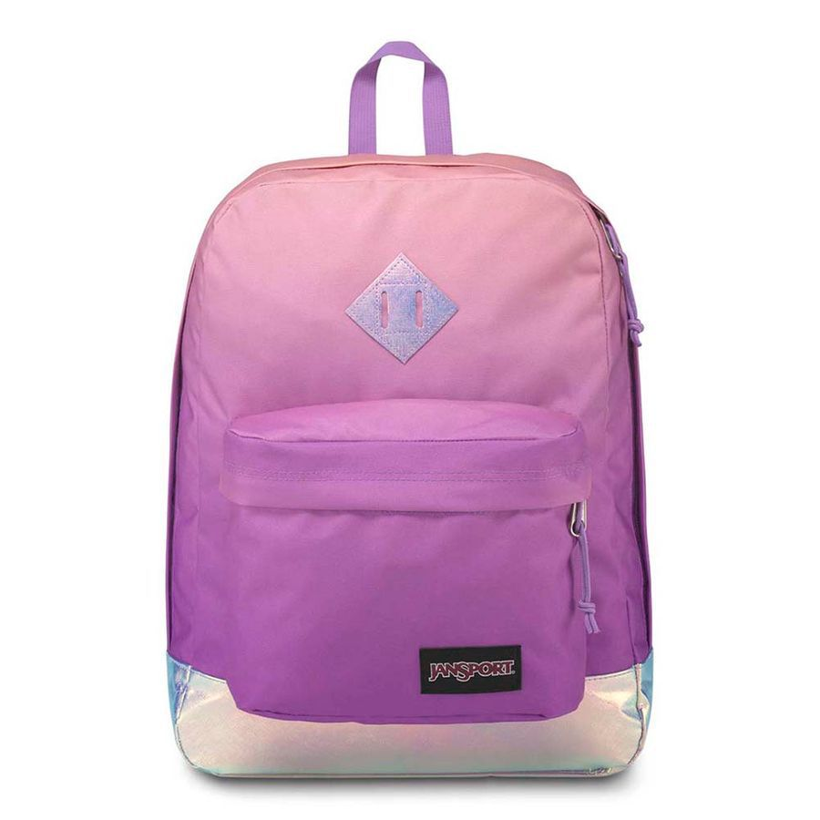 MOCHILA JANSPORT SUPER FX - IRIDESCENT SUNSET