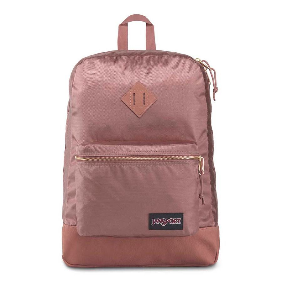 MOCHILA JANSPORT SUPER FX - MOCHA GOLD