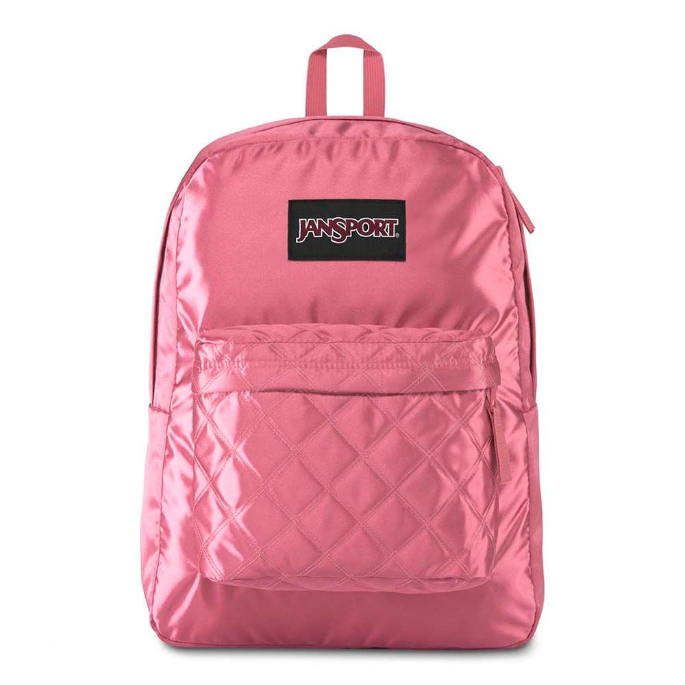 Mochila Jansport Super Fx Slate Rose Diamond Quilting