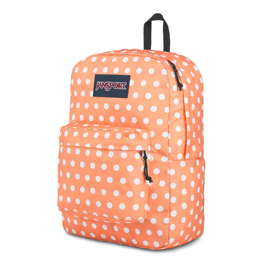 Mochila Jansport Superbreak Creamsicle Polka Dot