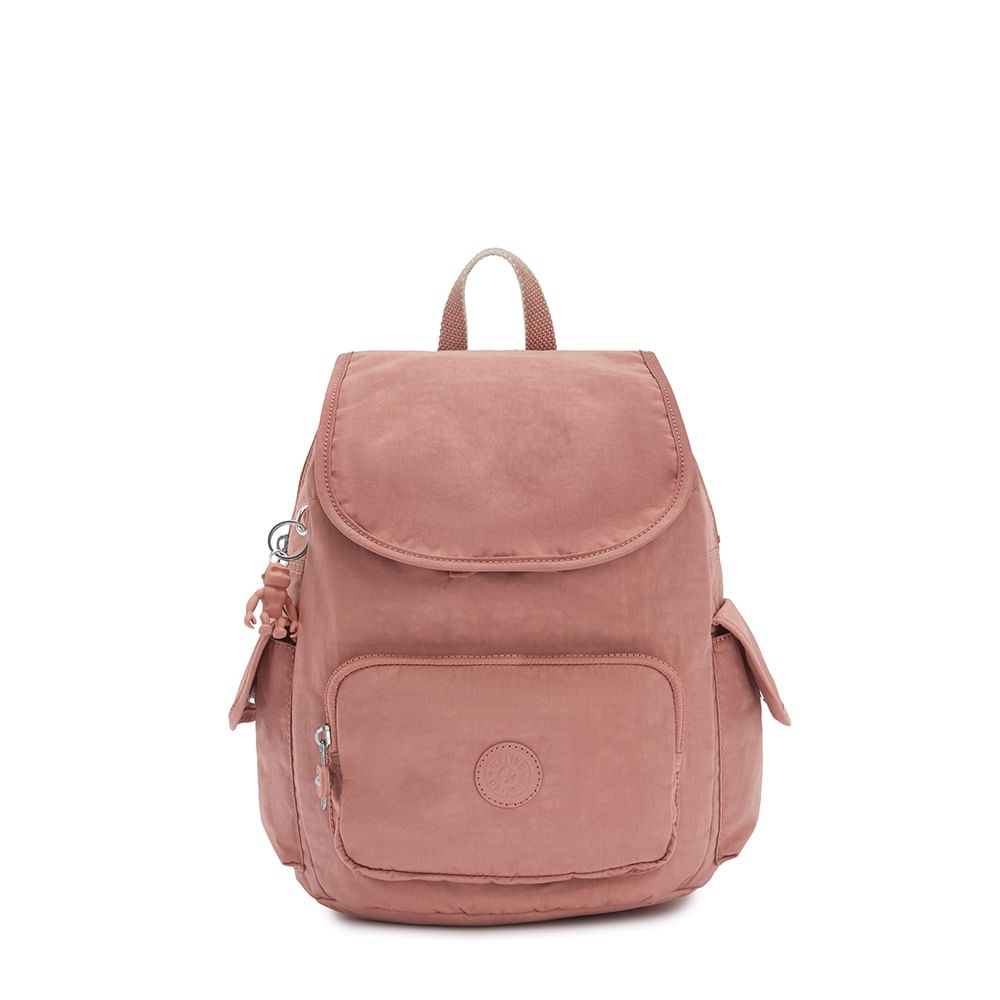 Mochila Kipling City Pack S Kind Rose