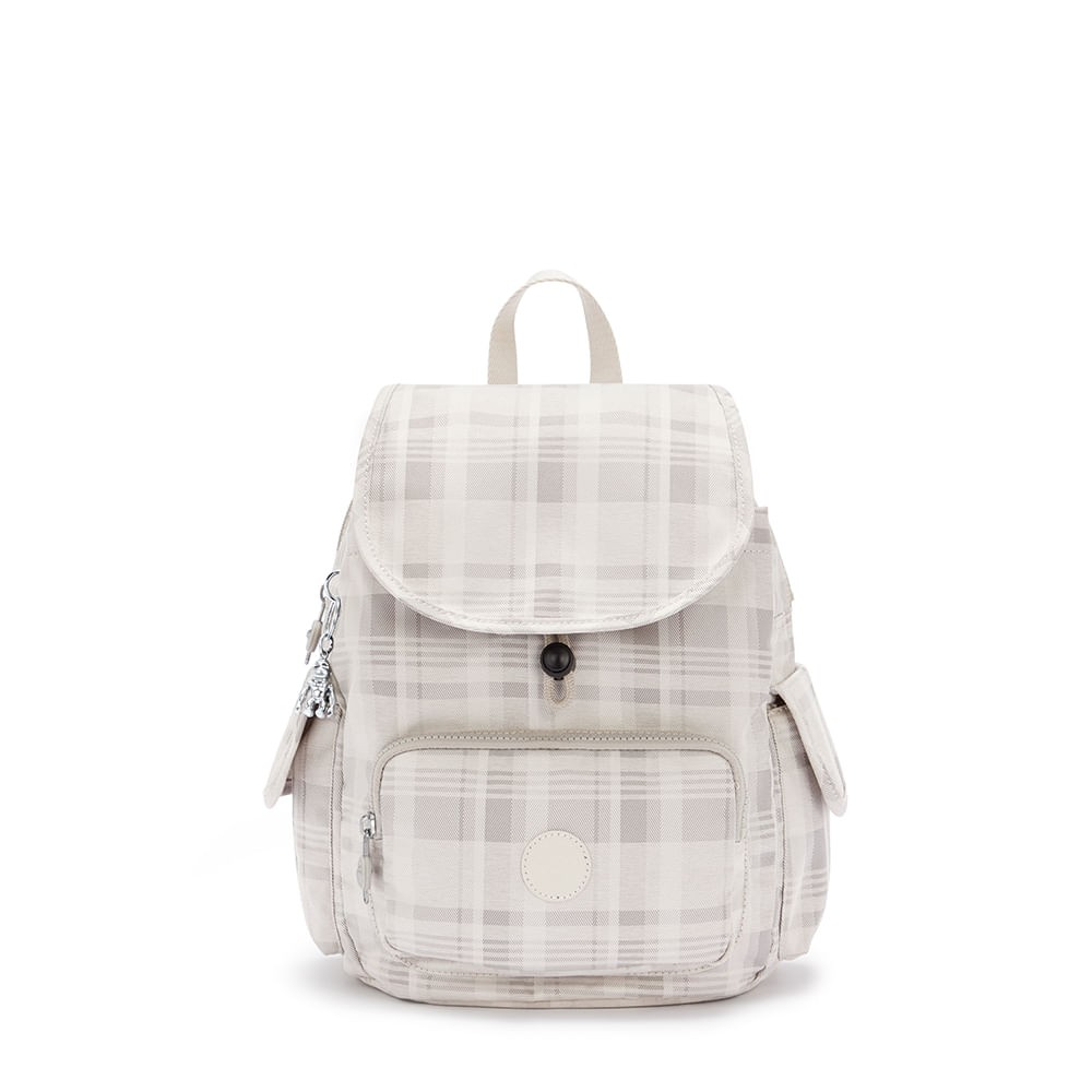 Mochila Kipling City Pack S Soft Plaid