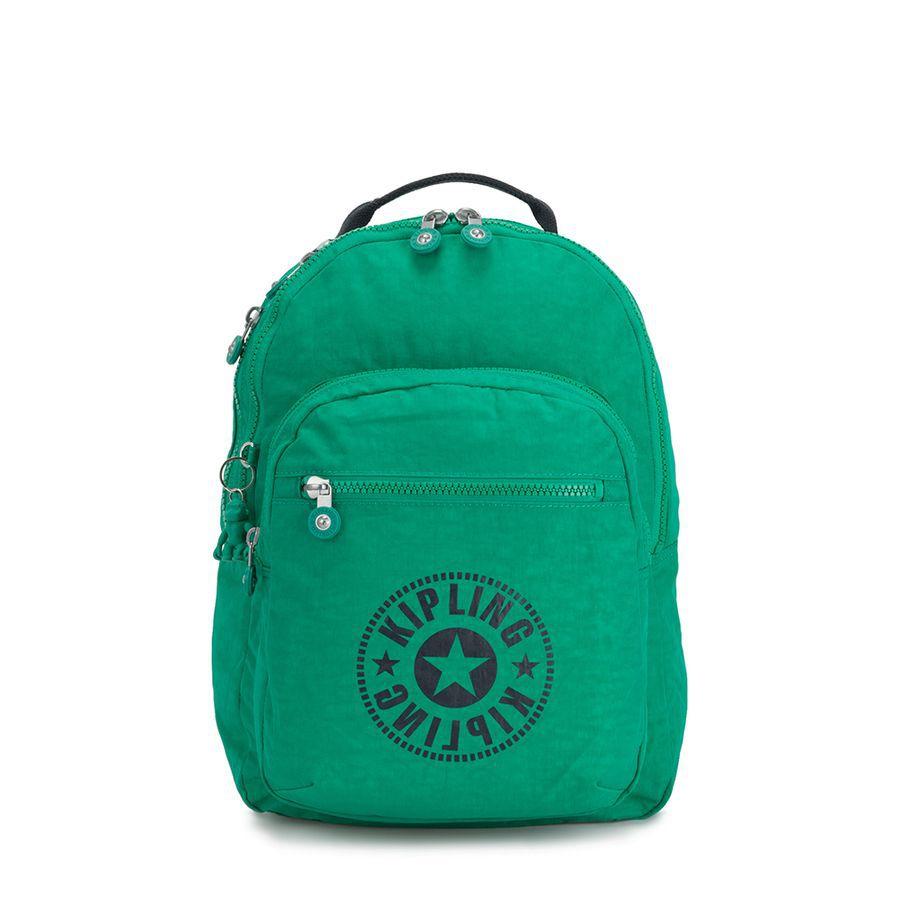 MOCHILA KIPLING CLAS SEOUL - LIVELY GREEN