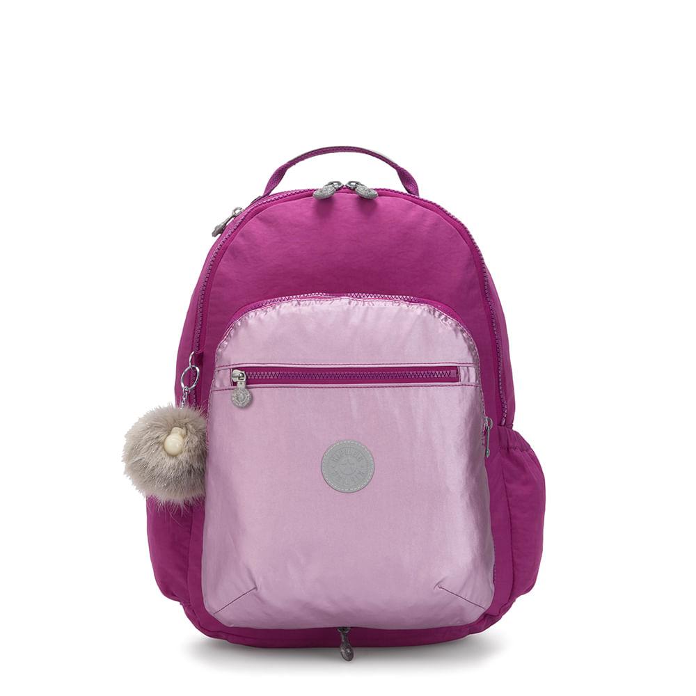 Mochila Kipling Seoul Switch Bright Pink