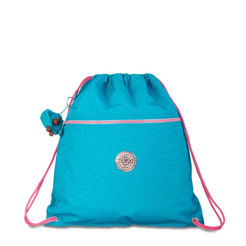 Mochila Kipling Supertaboo Turquoise Sea