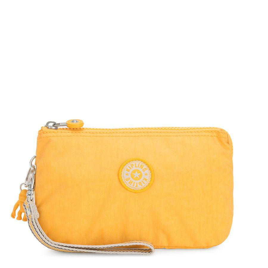 NÉCESSAIRE KIPLING CREATIVITY XL - VIVID YELLOW