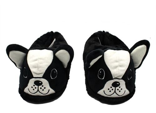Pantufa 3D Cachorro Bulldog Francês