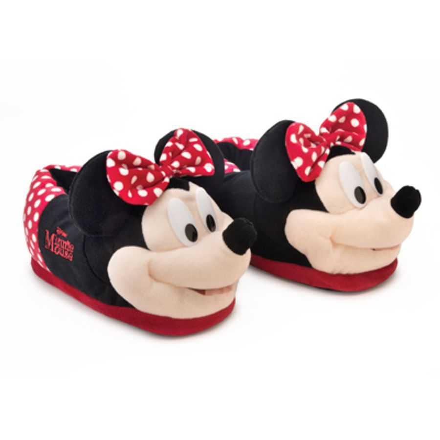 Pantufa 3D Disney Minnie Mouse
