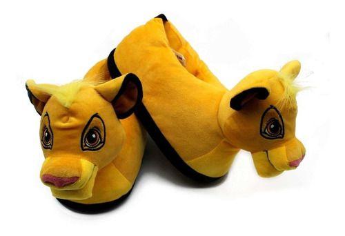 Pantufa 3D Disney Rei Leão Simba
