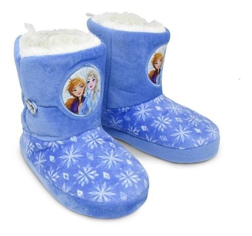 Pantufa Bota Infantil Frozen