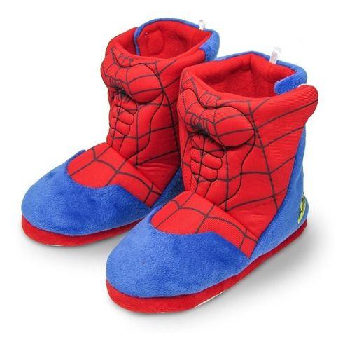 Pantufa Bota Infantil Spider-Man