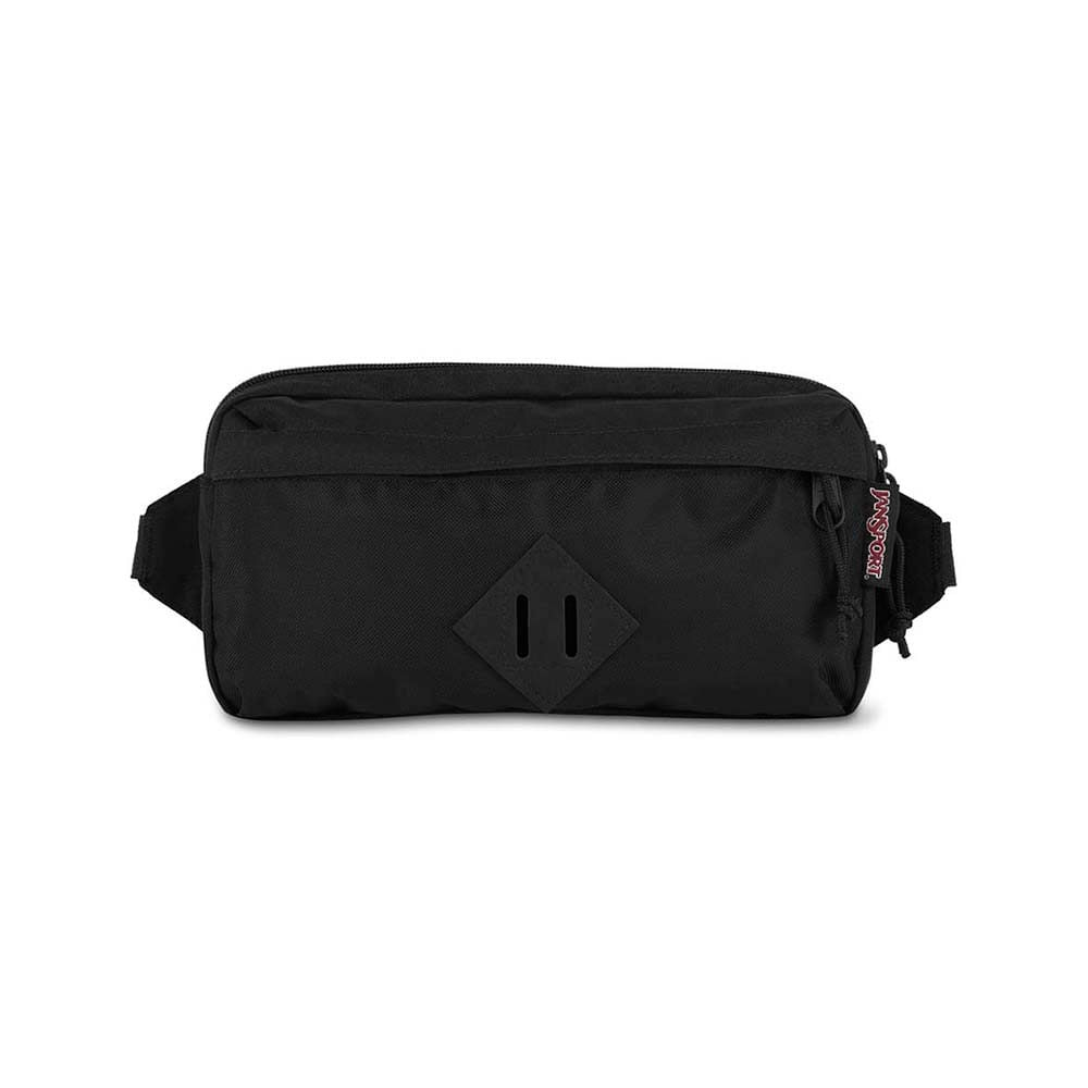 Pochete Jansport Waisted Black Ballistic Nylon