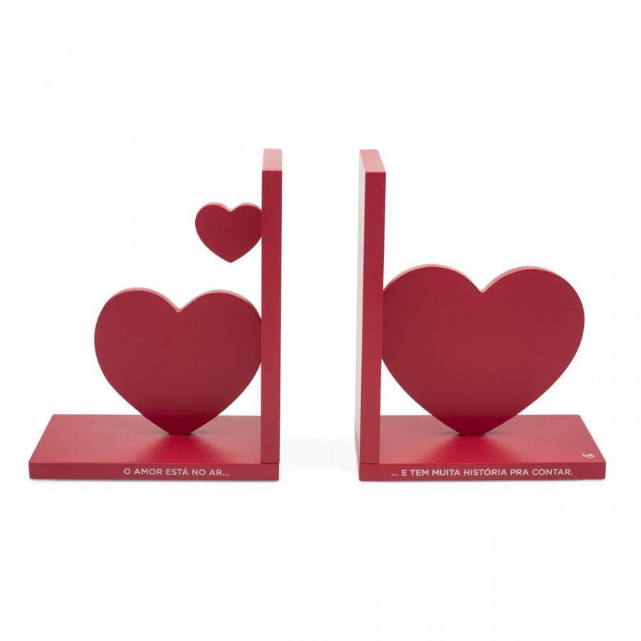 Porta-Livros Amor No Ar