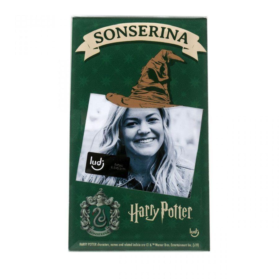 Porta-Retrato Cartão Harry Potter Sonserina
