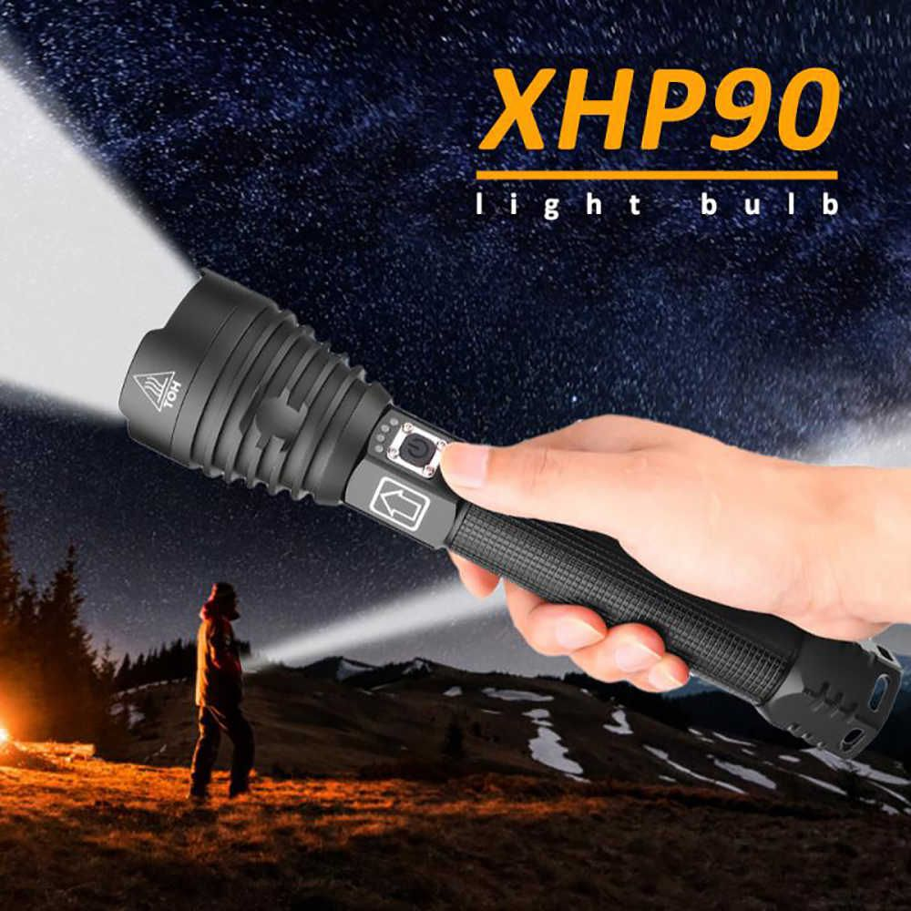 Lanterna Tática Zoom Led P90 JWS WS605 3.000 Lumens Reais