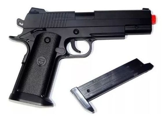 PISTOLA AIRSOFT VG1911 V18 FULL METAL  6MM SPRING