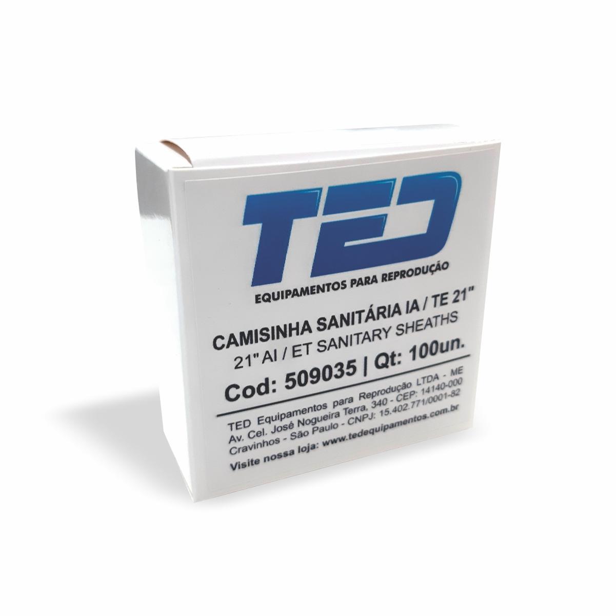 Camisinha Sanitária para IA / TE - TED